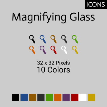 Magnifying Glass Set 01